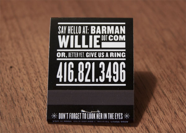 Barman Business Card Business Card