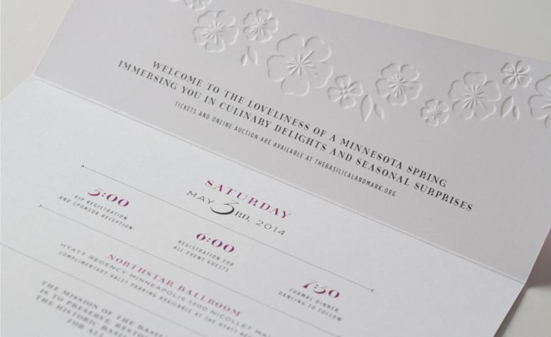 The Basilica Landmark Invitation