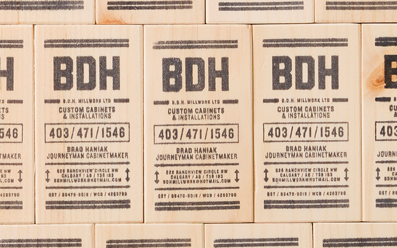 Fpo bdh millwork wooden business card bdh millwork wooden business card colourmoves