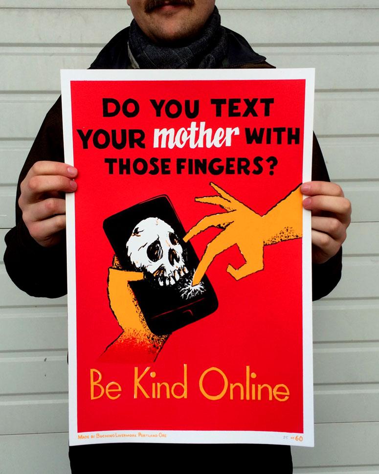Be Kind Online Poster