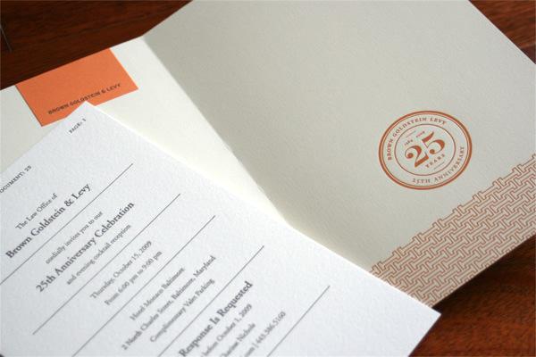 Brown Goldstein & Levy Invitation