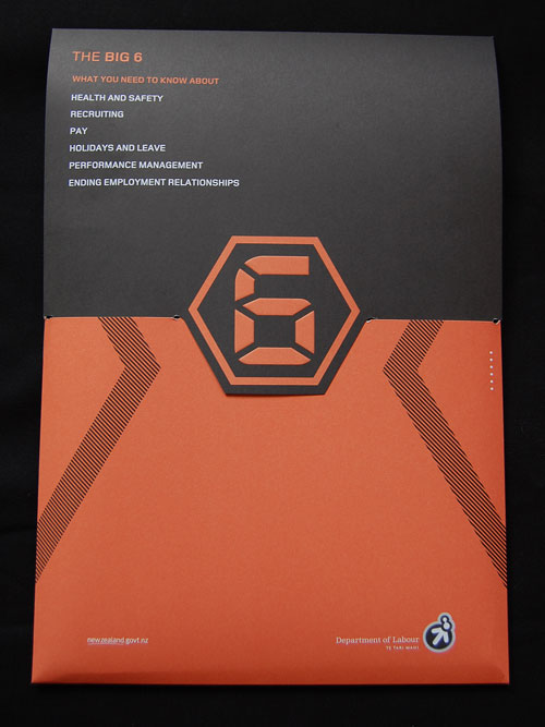 New Zeland Department of Labor Booklets