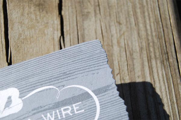 Bird on a Wire Identity Materials