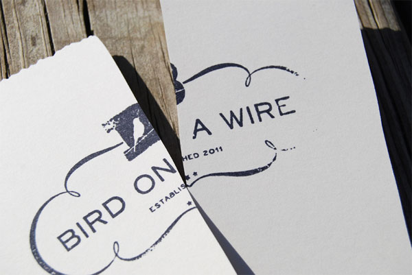 Bird on a Wire Identity Materials