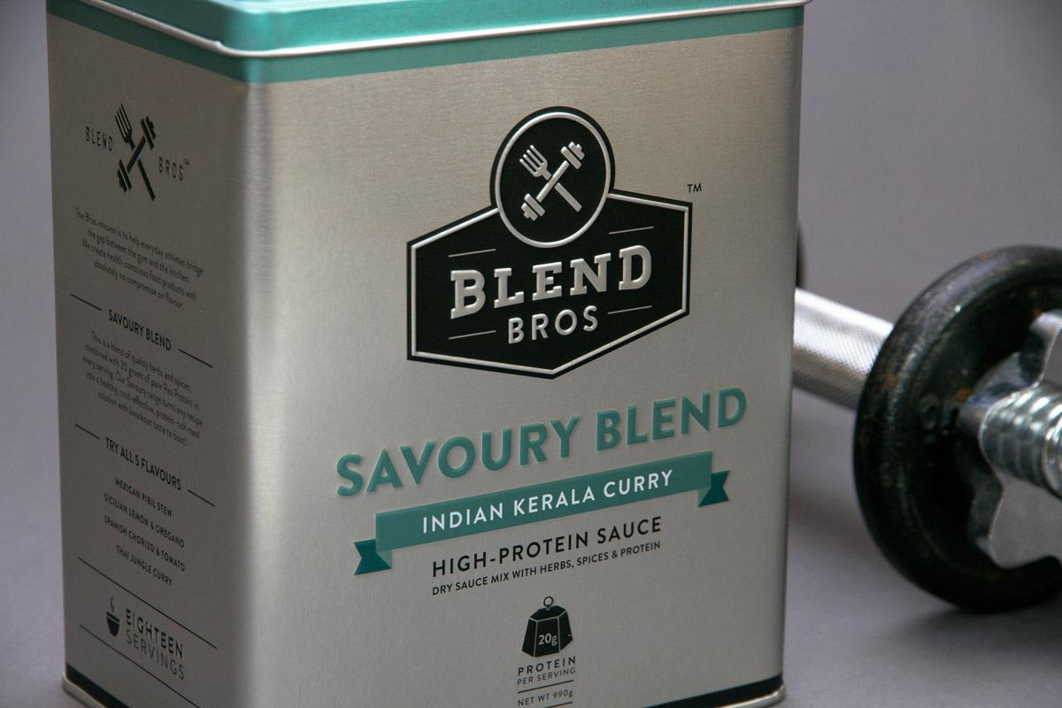 Blend Bros. Packaging