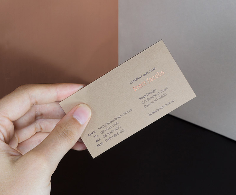 Boab Business Cards