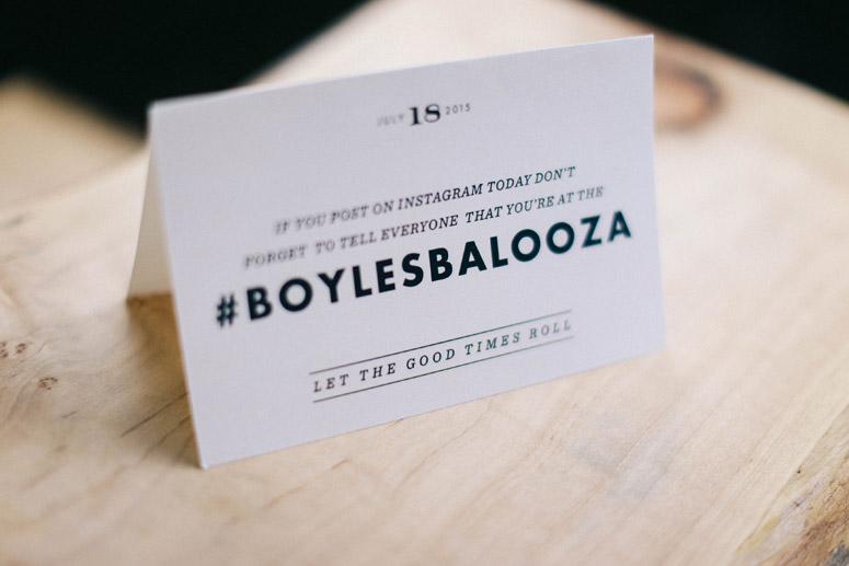 Boyles Balooza Wedding