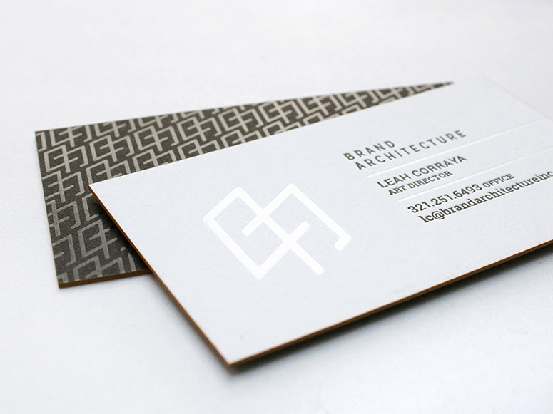 Brand Architecture Inc. Business Cards