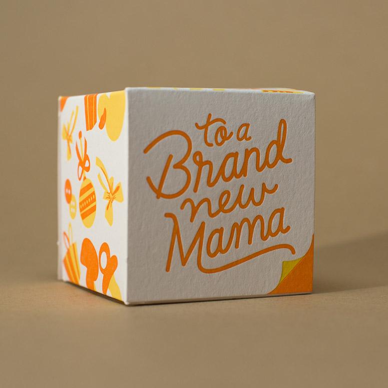 Brand New Mama Gift Box & Onesie