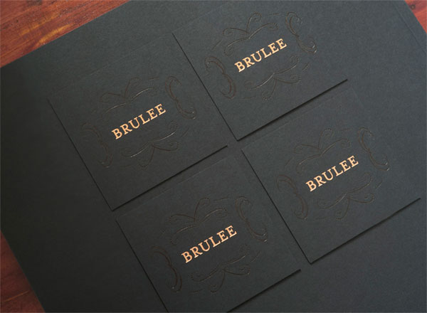 Brulee Stationery Package