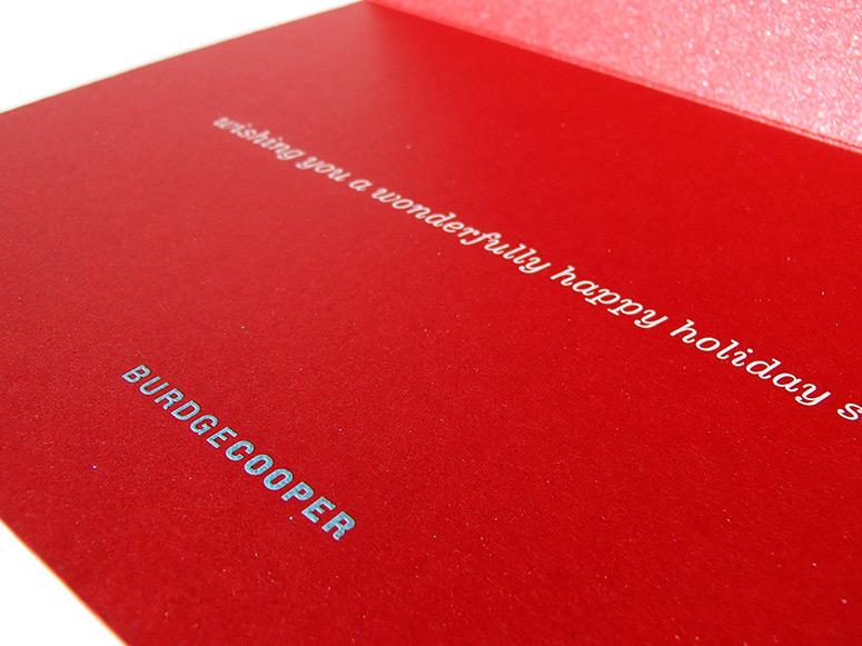 BurdgeCooper Holiday Card