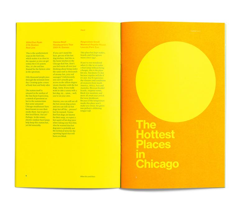 Leo Burnett Dept. of Design Booklet