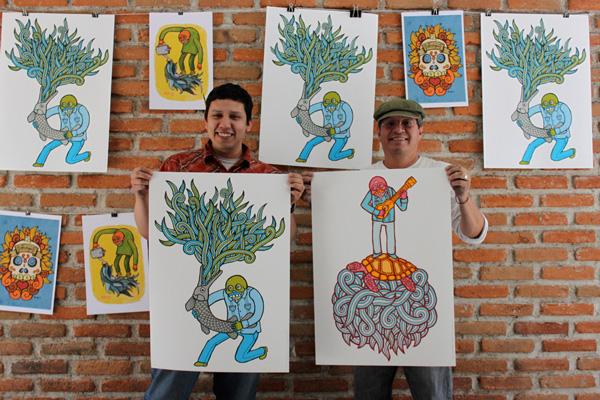 Victor Melendez Poster Series