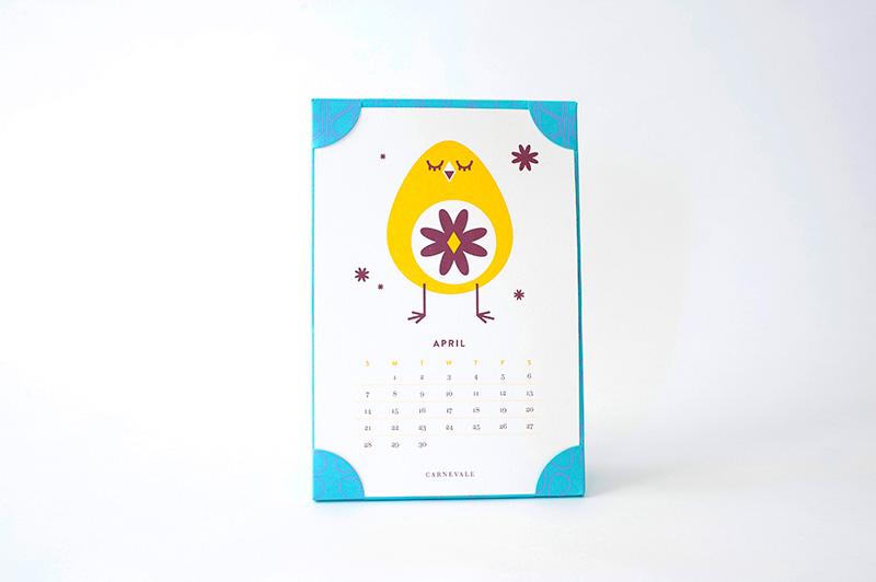 2013 Carnevale Calendar