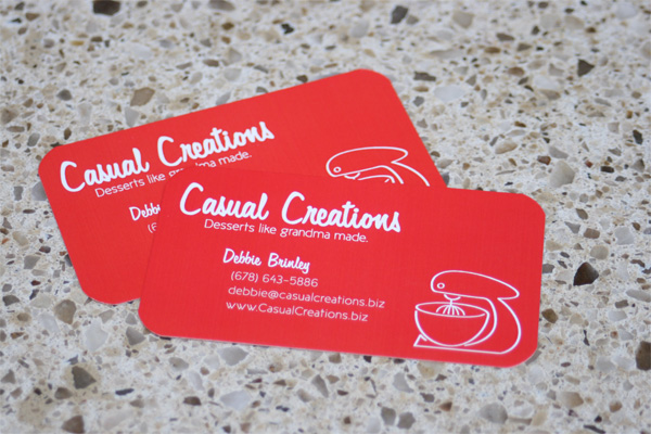 Casual Creations Identity Materials