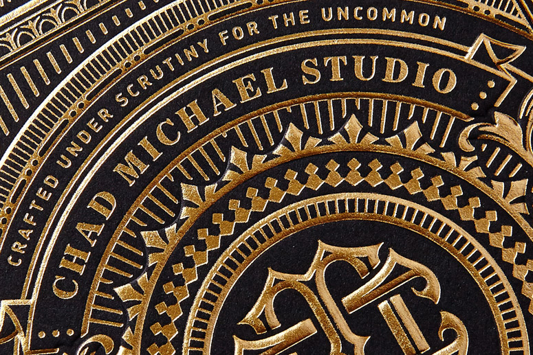 Chad Michael Studio Business Card