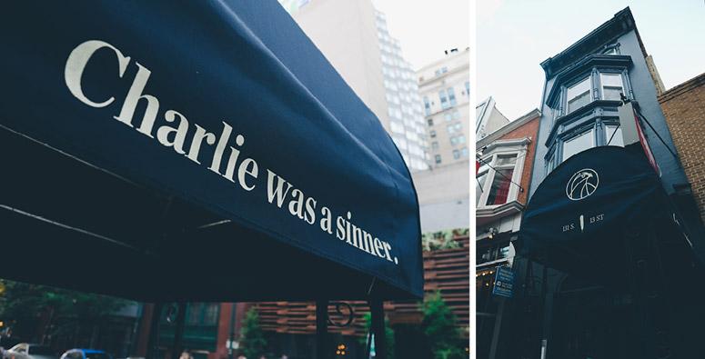Charlie was a sinner.