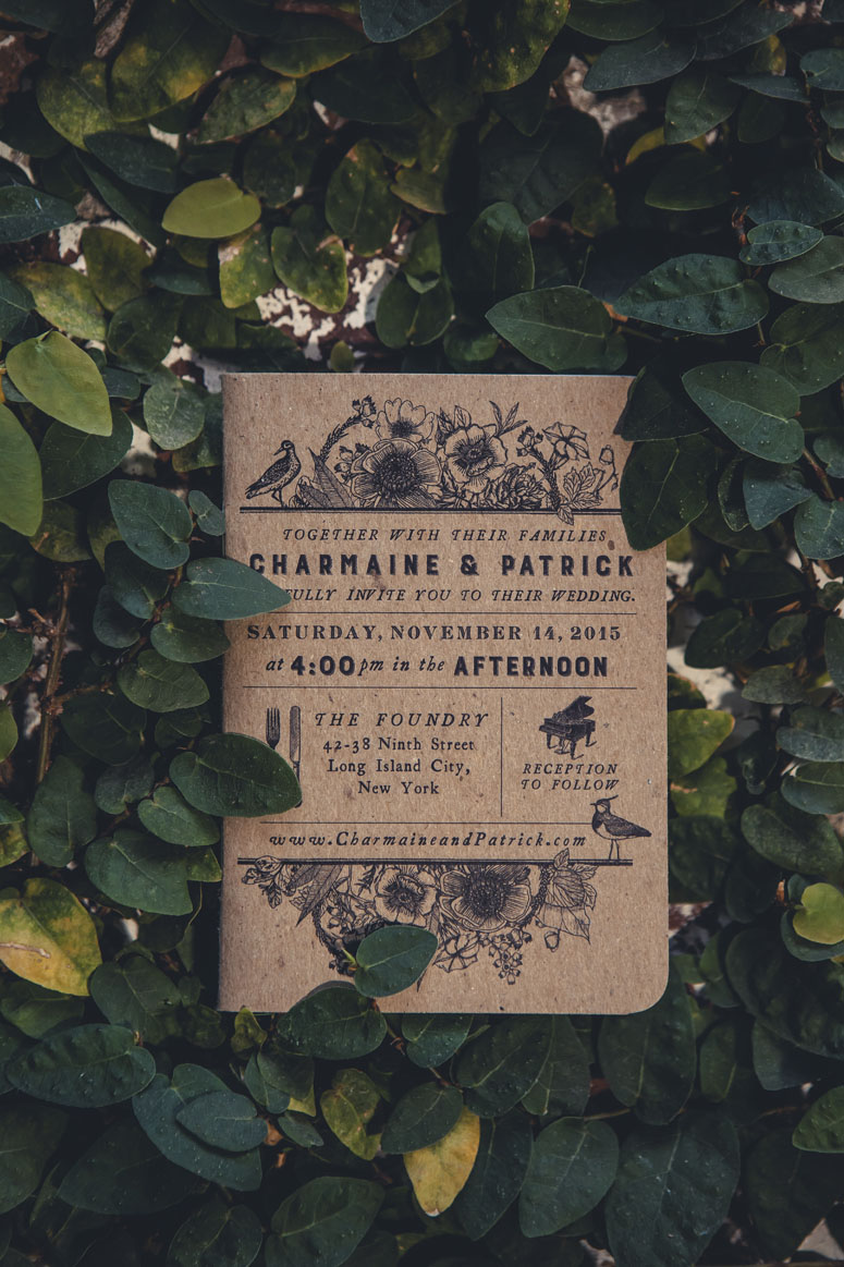 Charmaine & Patrick Wedding Invitation