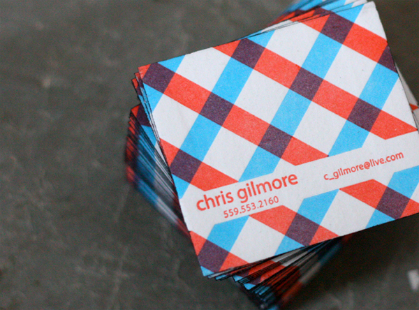 Chris Gilmore Business Card