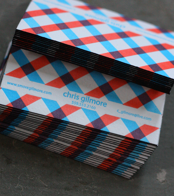 Chris Gilmore Business Card