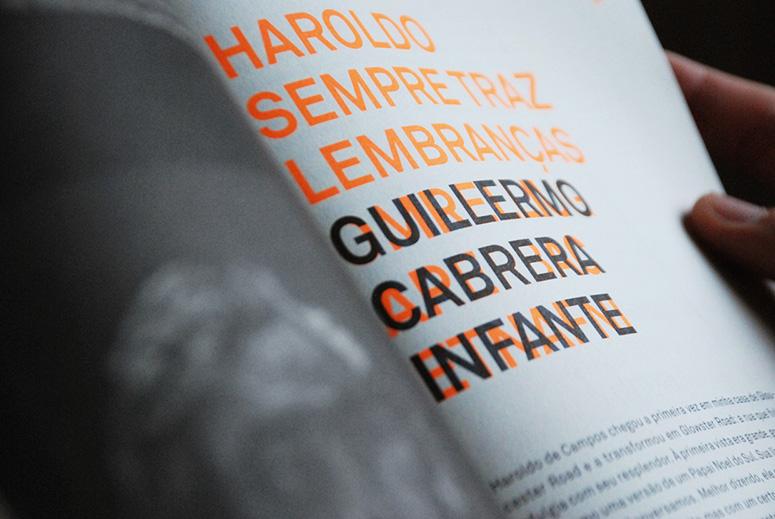 Cisma -- Especial Haroldo de Campos
