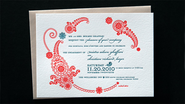 Amy Kitt Engagement Invitation