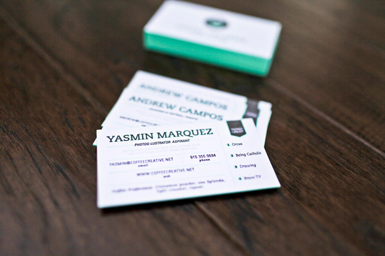 Coffee Creative Business Cards