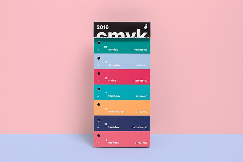 2016 Color Swatch Calendar