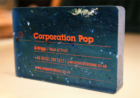 Corporation Pop Business Card