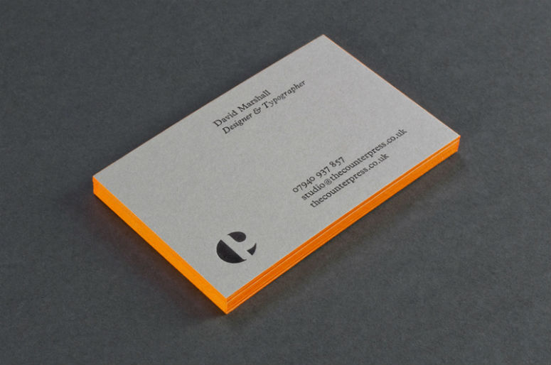 The Counter Press Business Cards
