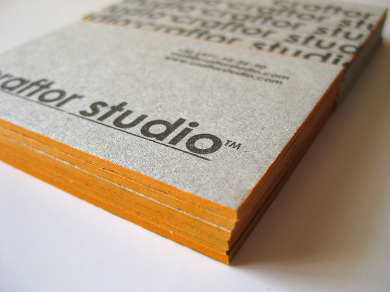 Craftor Studio Business Cards