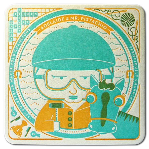 Cranky Pressman Coasters
