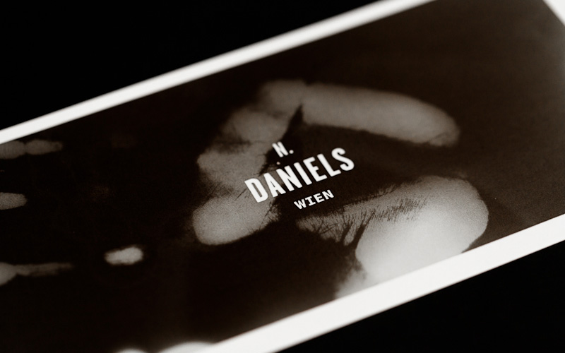 Stationary Design for N. Daniels by Bureau Rabensteiner