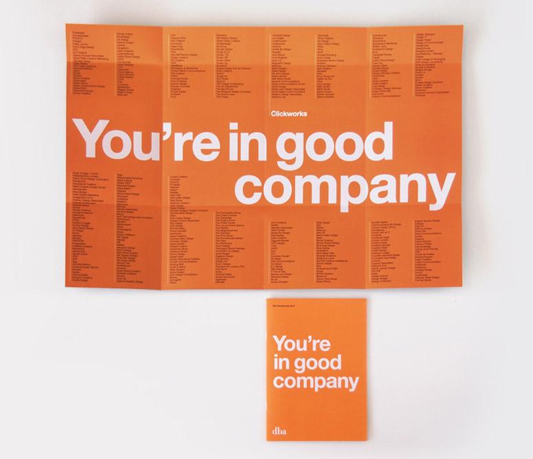 DBA Membership Brochure and Poster