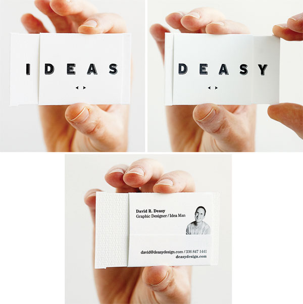 David Deasy Business Card