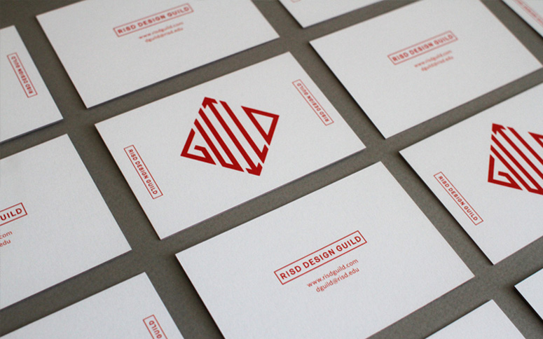 RISD Design Guild Business Card