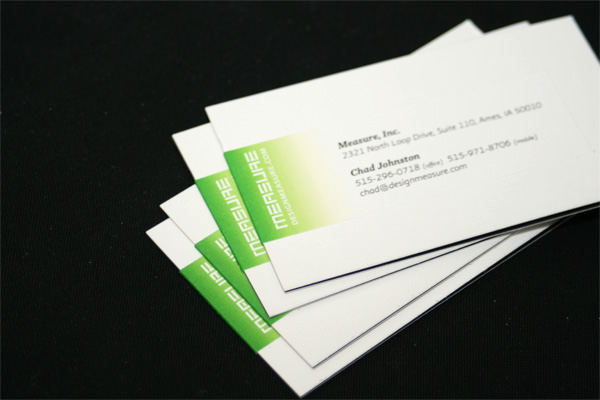 Design Measure Business Cards