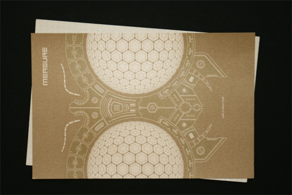 Design Measure Postcards