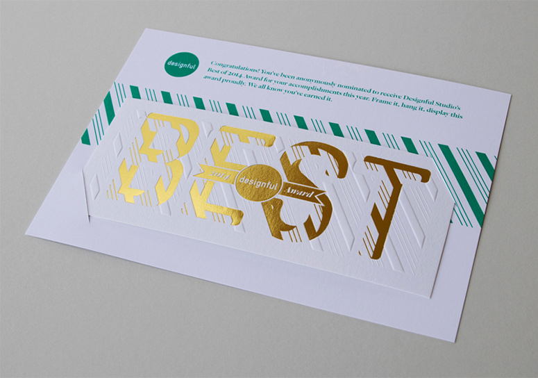 Designful Studio Best of 2014 Award