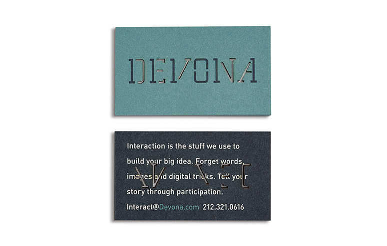 Devona Identity and Stationery