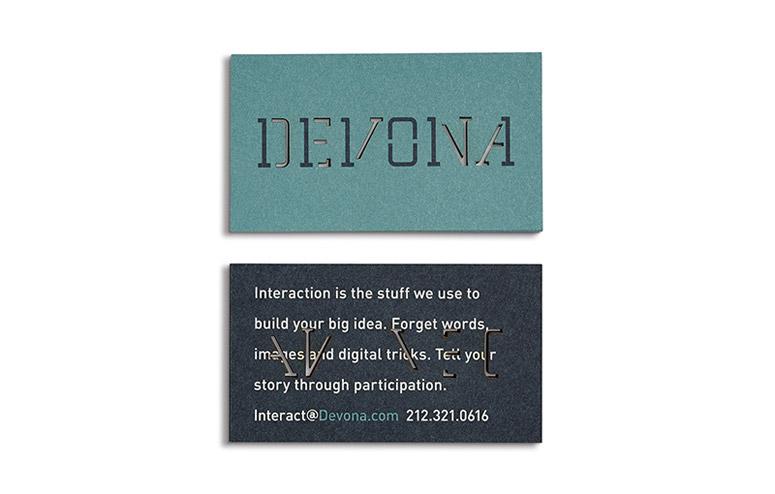 DevonaIdentity and Stationery