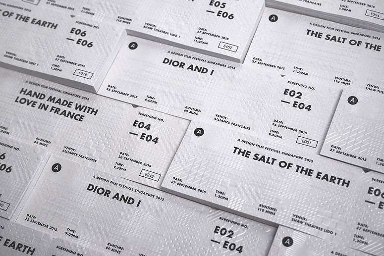 A Design Film Festival 2015 Tickets and Collateral