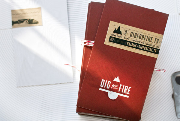 Dig for Fire Identity Materials