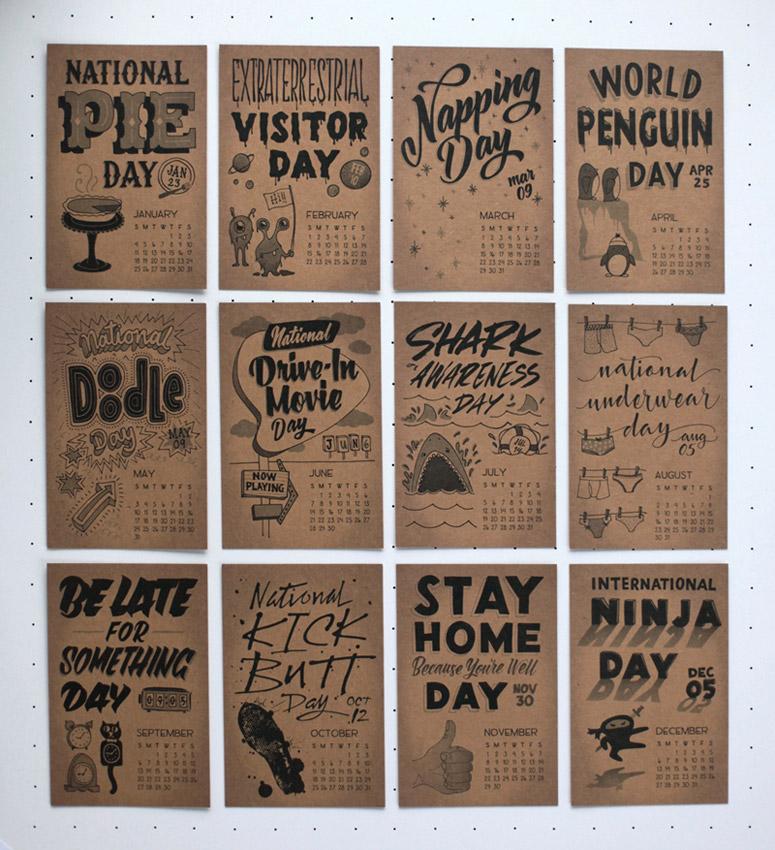Dirty Bandits Calendar 2015