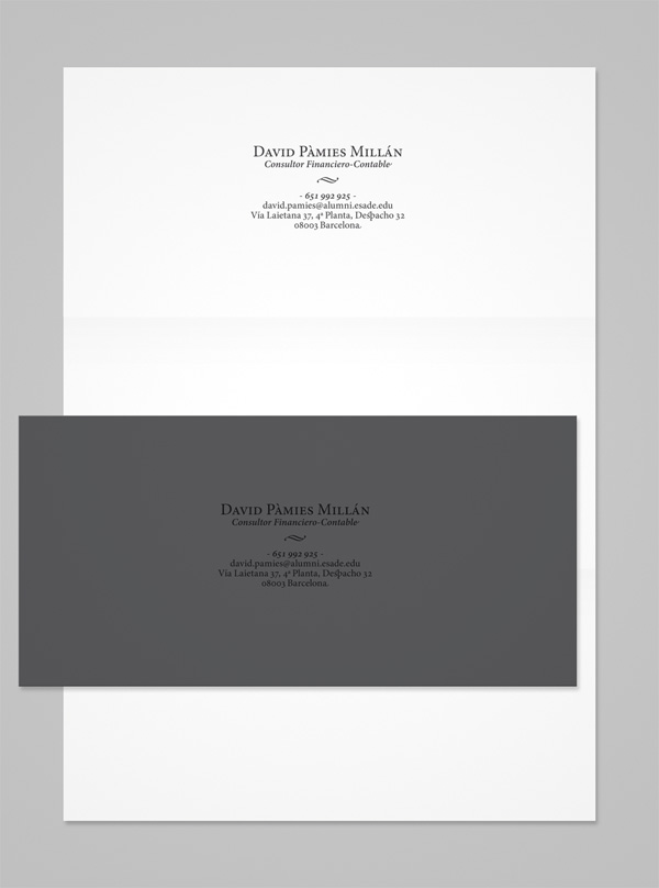 David Pàmies Millán Business Card