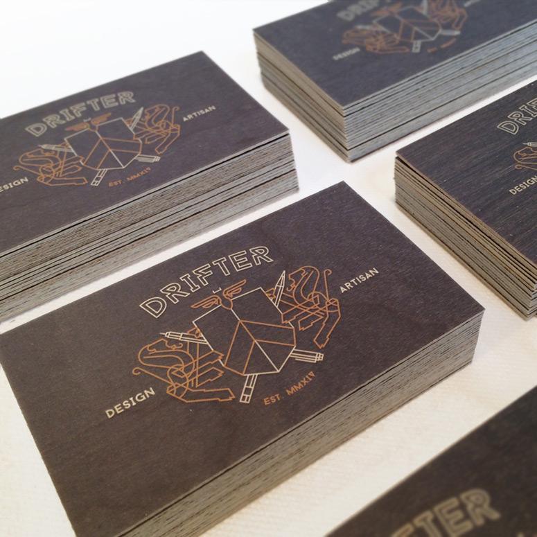 Drifter Media Business Cards