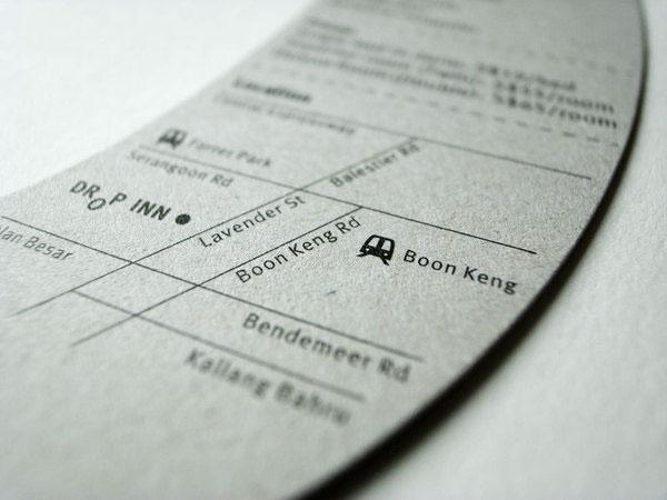 Drop Inn Hostel Flyer and Business Card