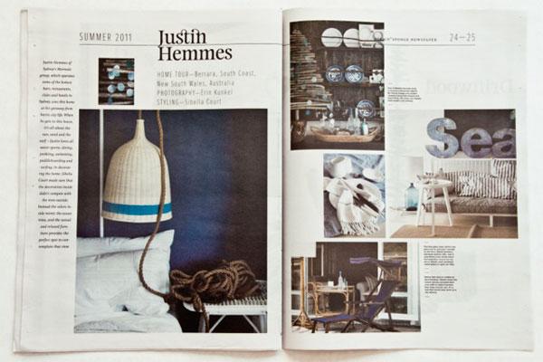 Design*Sponge Summer 2011 Newspaper