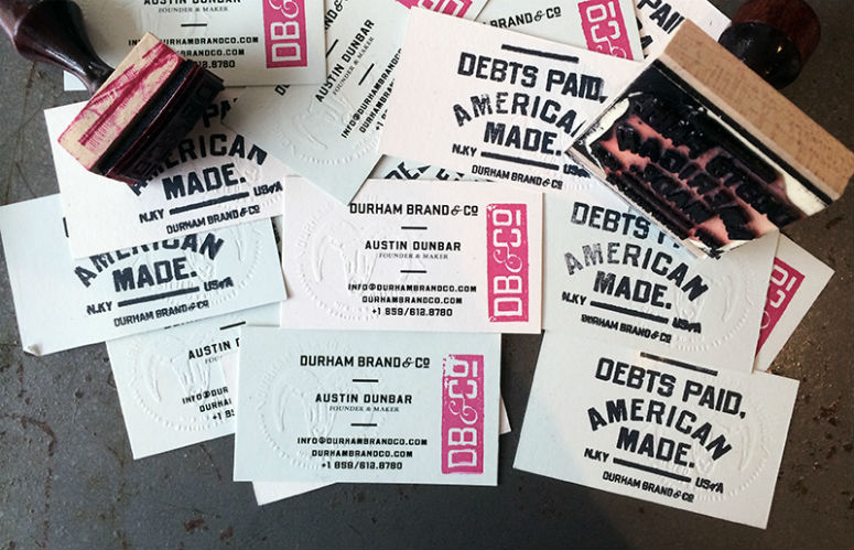 Durham Brand & Co. Business Cards