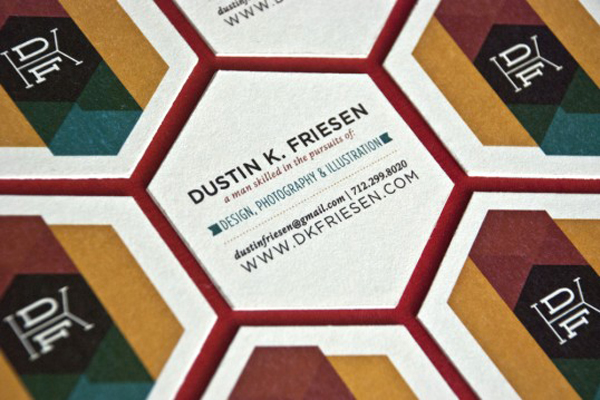 Dustin K. Friesen Business Card